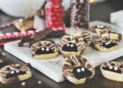 Lucky Stripes - Vanilla & Chocolate Zebra Cookies