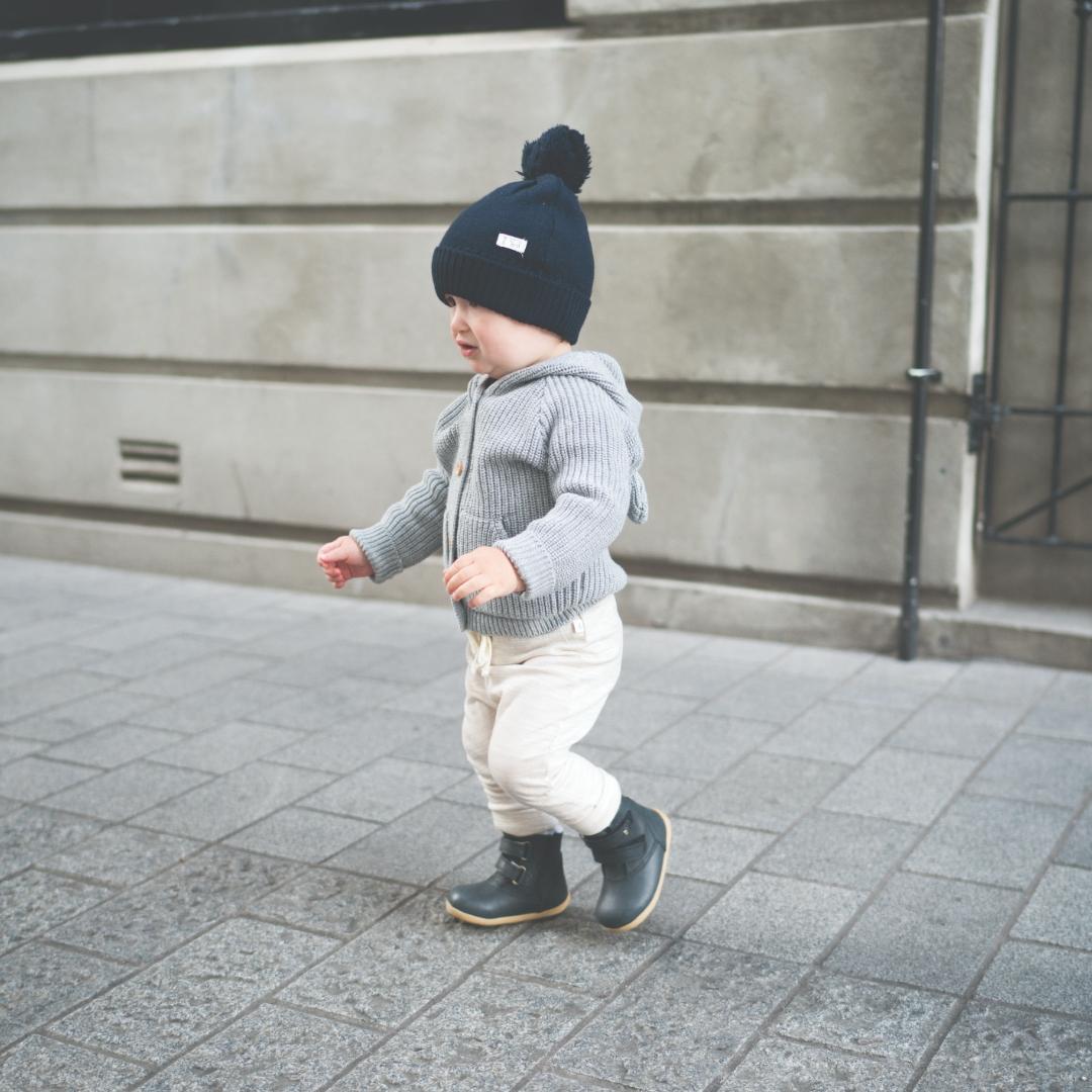 aspen black ash merino bobux winter boots boy child toddler