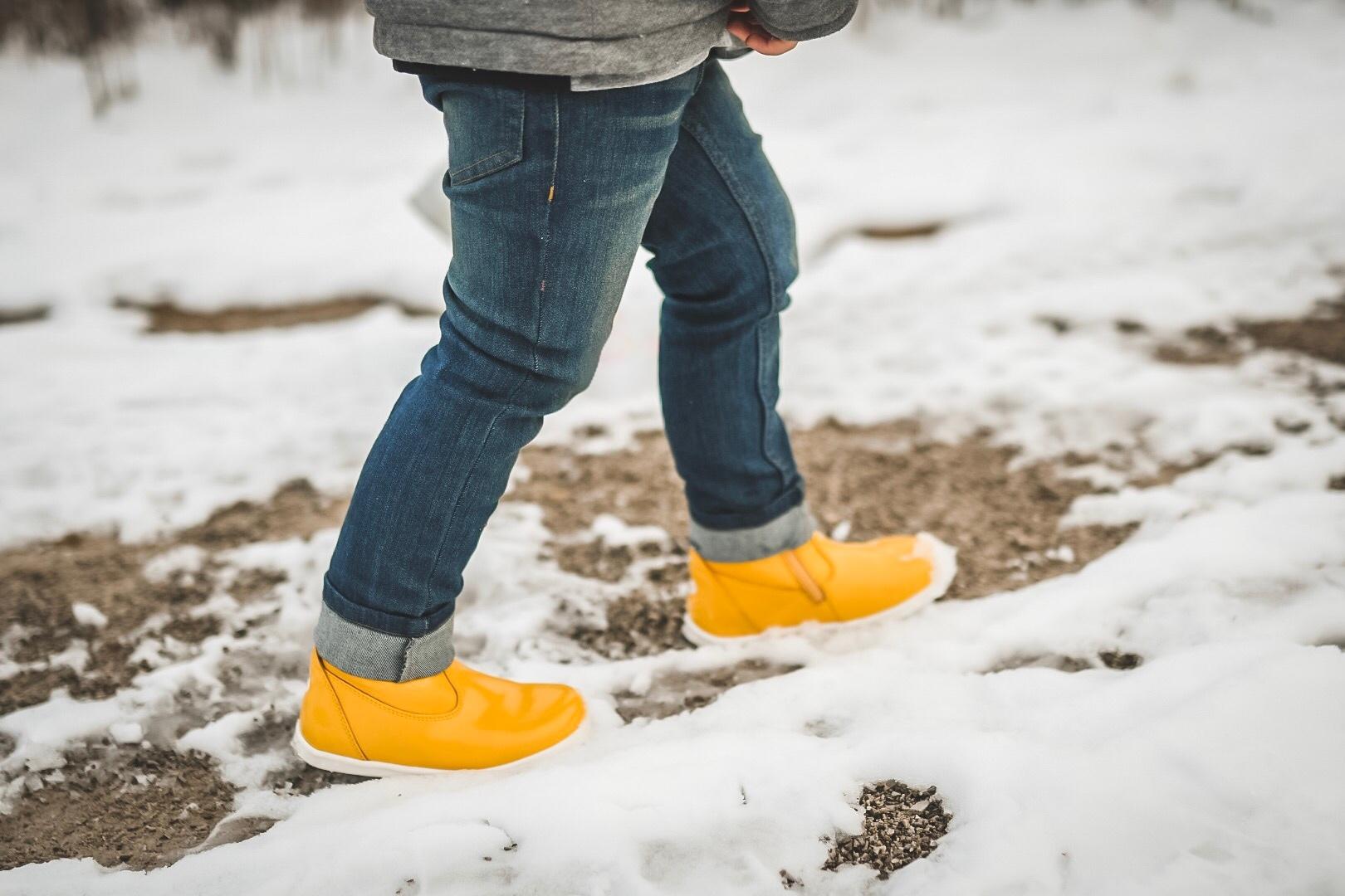 paddington yellow bobux winter boots waterproof snow children alongcameadaleigh